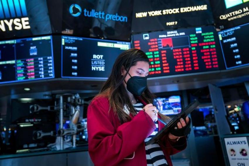 الأسهم الأمريكية ترتفع في ظل نتائج أعمال شركات وقبل شهادة يلين