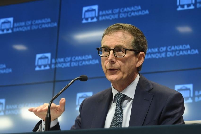 البنك المركزي الكندي يتعهد بعدم زيادة أسعار الفائدة حتى 2023 على الأقل