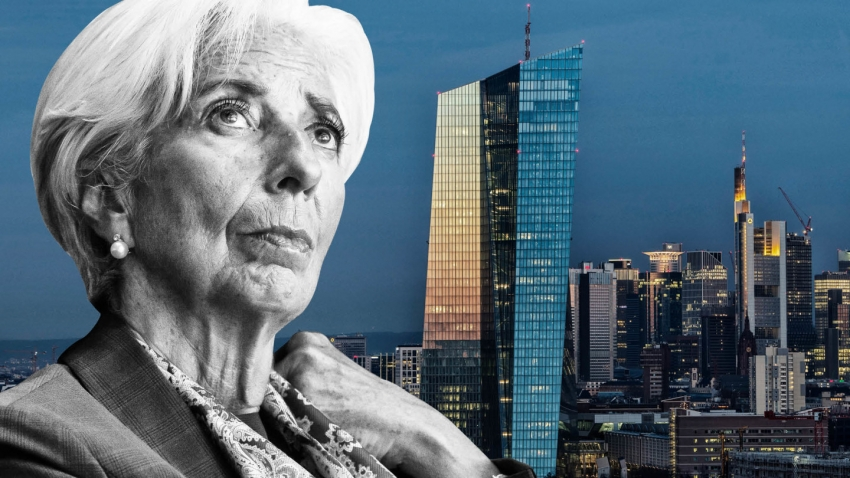 لاجارد: اقتصاد منطقة اليورو أقرب لأسوأ سيناريوهات المركزي الأوروبي