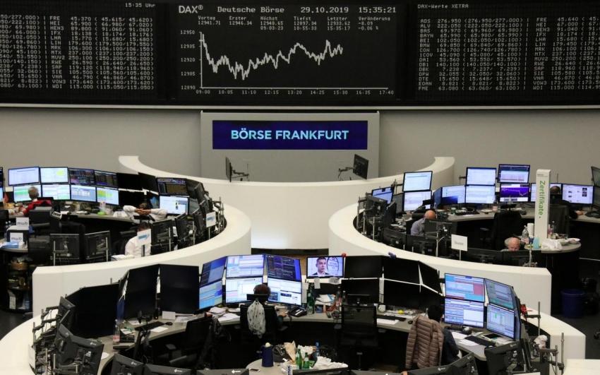 الأسهم الأوروبية عند مستوى قياسي مع تهدئة التوترات التجارية بين الولايات المتحدة والاتحاد الأوروبي