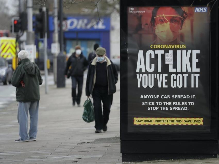 قفزة في إصابات الفيروس ببريطانيا رغم تطعيم 8 من كل 10 بالغين