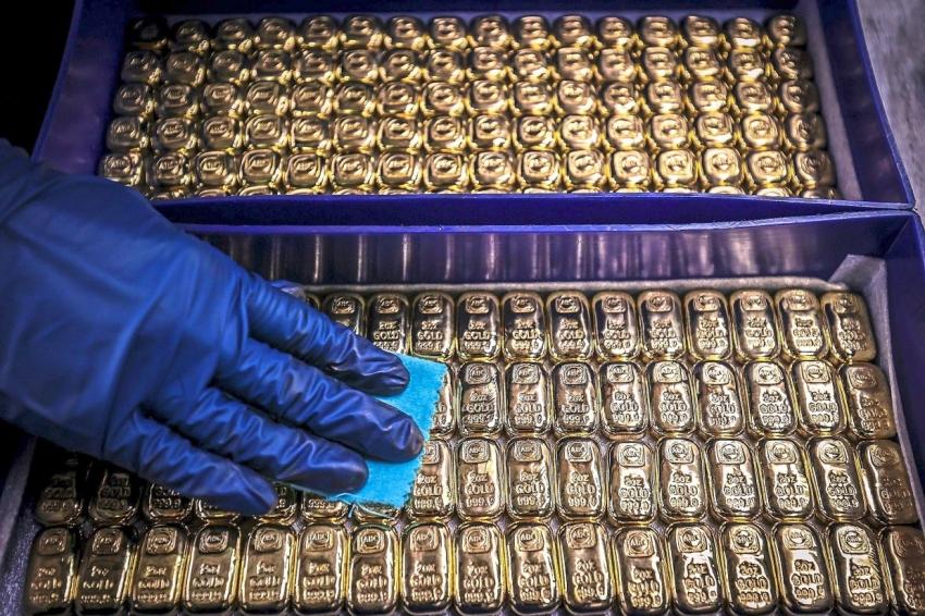 الذهب يتأرجح بعد بيانات التضخم الأمريكي